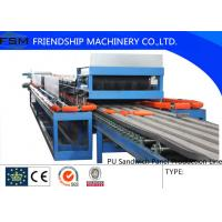 Buy cheap Automatic Continuous PU Sandwich Panel Production Line For 25mm - 100mm Thickness PU Foam from wholesalers