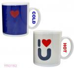 Buy cheap temperature sensitive color changing mugs/custom color changing mug/make magic mug from wholesalers