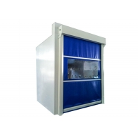 Quality Fast Shutter Door Cargo Air Shower Tunnel Cutsomized Size And Color for sale