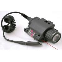 Buy cheap Laser speed Red Combo LED Flashlight with Quick Rail Mount gun sight from wholesalers