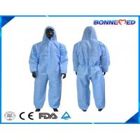 Buy cheap BM-7026 Good Qulaity Disposable Safety Type Working Coverall Non-woven Material with Antistatic from wholesalers