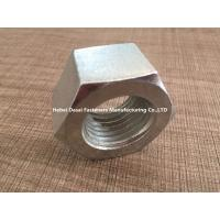 Buy cheap Hot Galvanizing Surface M5 Hex Nut / SS Hex Nut For Home Decorating from wholesalers