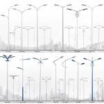 Buy cheap Single Section Lattice Steel Pole Single Arm Street Light Steel Tubular Pole from wholesalers