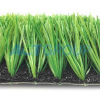 High Elasticity Fifa Artificial Turf Fake Grass Multi - Spine Shape Yarn Anti - UV