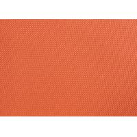 Buy cheap Orange Dyed PVC Coated Polyester Fabric Waterproof For Suitcases from wholesalers