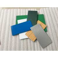 Buy cheap Pearl Blue PVDF Aluminum Composite Panel Heat Insulation For Wall Cladding product