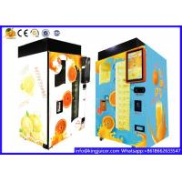Buy cheap Durable Scan Code Payment Fresh Juice Vending Machine With CE Certification from wholesalers