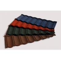 Buy cheap Heat Resistant Stone Coated Metal Roofing Tile Brick Red Roof Tiles from wholesalers