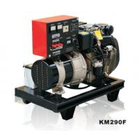 Buy cheap Open Frame Air Cooled Small Diesel Generator Silent KM290FT product