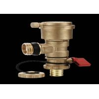Buy cheap External Thread Automatic Dual Purpose Brass Ball Valve True Color from wholesalers