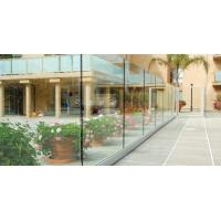 Buy cheap Good Quality Deck Railing Glass Panels with Frameless Glass Balustrade Design product
