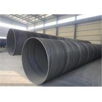 China Black Painting Carbon Steel SSAW Welded Steel Pipe API 5L Gb T3091 Q345 Q345b Grade B Psl1 on sale