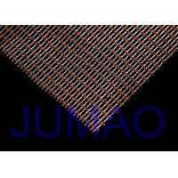 Buy cheap Interior Woven Wire Architectural Metal Fabric Sun Protection For Railing product