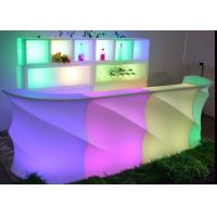 Buy cheap Night Club LED Furniture Light Up Bar Counter With Lithium Ion Battery from wholesalers