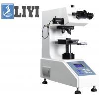 Buy cheap 120mm Throat Depth Hardness Testing Machine , Digital / Micro Turret  Vickers Hardness Tester from wholesalers