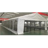 Buy cheap 8 × 20m Rustproof Outdoor Party Tents Wind Resistant With Plastic Windows from wholesalers