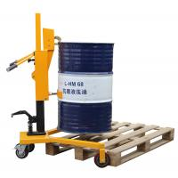 Buy cheap Loading 450Kg Pedaled Hydraulic Forklift Drum Lifter, Drum Lifting Trolley from wholesalers