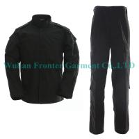 Buy cheap Black Military Gear Security Guard Army Uniform Supplies  Quality Choice from wholesalers
