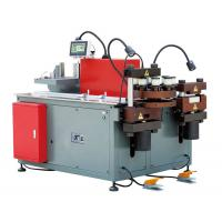 Buy cheap BusductProductionMachine , PLC Control 3 In 1 Busbar Processing Machine product