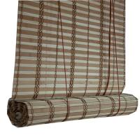 Buy cheap Natural bamboo Straight type venetians slats Bamboo blinds from wholesalers