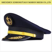 Buy cheap Railway Military Hats And Caps / Military Style Hats For Men Army Peaked Cap from wholesalers
