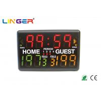 Buy cheap Led Indoor Light Portable Digital Basketball Scoreboard With Multi - Sports Function from wholesalers