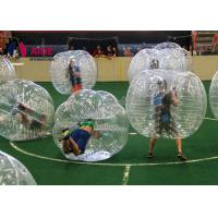 Buy cheap 1.7m Red Blue Color Inflatable Bubble football Giant Inflatable Soccer Ball 6 Ft Bubble Suit from wholesalers