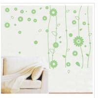 Buy cheap Home PVC Cool Personalised Wall Flower Stickers LY-017, /Wall Sticker Art /Decorative Wall Stickers /Floral Wall Stickers from wholesalers