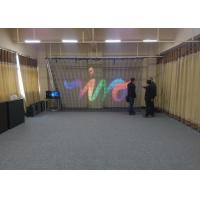 Foldable folding led curtain display screen for concert stage for sale