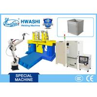 Buy cheap Steel Cabinet Case Industrial Welding Robots With Panasonic TIG / MIG Welder from wholesalers