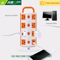 Buy cheap 220v 10a electric extension sockets/tower ac power socket/universal switch socket outlet from wholesalers