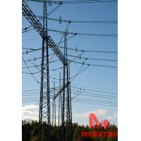 Buy cheap 400KV gantries overhead line steel tower from wholesalers