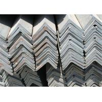 Buy cheap Industrial Rolled Equal Angle Steel Section / Mild Steel Sections GB Standard from wholesalers