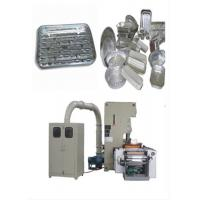 Buy cheap Mitsubishi Aluminum Foil Container Machine Siemens CPU 224 , Automatic Scrap Collecting System from wholesalers