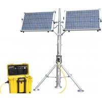 Buy cheap portable solar power generator station from wholesalers