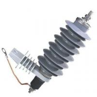 Buy cheap 15kV Zinc Oxide Surge Arrester , Polymer Lightning Arrester For Protection from wholesalers
