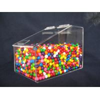 Buy cheap Clear Custom Acrylic Display Case For Jelly Beans Candy 3MM 6MM product
