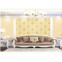 Buy cheap Contemporary Damask Deep Embossed Wallpaper Waterproof For Interior Room product