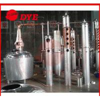 Buy cheap 100Gal Copper Commercial Distilling Equipment , Vodka Distillery Equipment from wholesalers