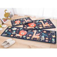 Buy cheap Washable Non-slip Animal Bath Mat , Non-woven Polyester Floor Mats product