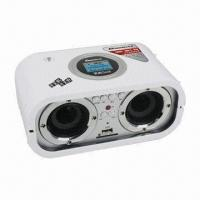 Buy cheap LCD Display SD/MMC and USB Card Reader Portable Speaker with FM Radio + Remote Control from wholesalers