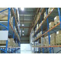 Buy cheap Heavy Duty Selective Pallet Racking System Industrial Racks Large Capacity from wholesalers