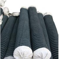 Buy cheap 2 inches green color pvc coated 5x5cm chain link fence costs with good quality from wholesalers