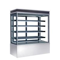 Buy cheap Auto Defrost Refrigerated Cake Display Cabinets 560L Capacity For Cafes,900mm Length Four Shelves Cake Fridge product