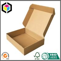 Buy cheap Plain Brown Color Corrugated Cardboard Shipping Box, Mailer Box, Carton Moving Box from wholesalers