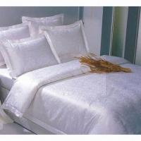 Buy cheap White striped duvet cover, made of 100% cotton, suitable for star hotels and houses from wholesalers