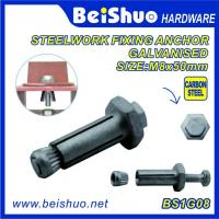 China High Quality  Hot Sales Carbon steel  Zinc plated Hot dip Galanised  Hex Expansion Anchor Bolts on sale