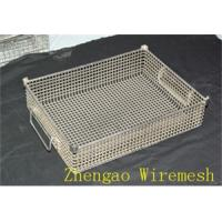 Buy cheap Wire mesh stainless steel rack from wholesalers