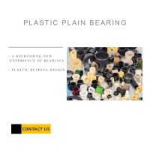 Buy cheap OEM EP IGUS Plastic Bearings Non - Metallic Sleeve Polymer Bearings from wholesalers