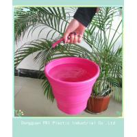 Custom durable silicone folding bucket for picnic household product